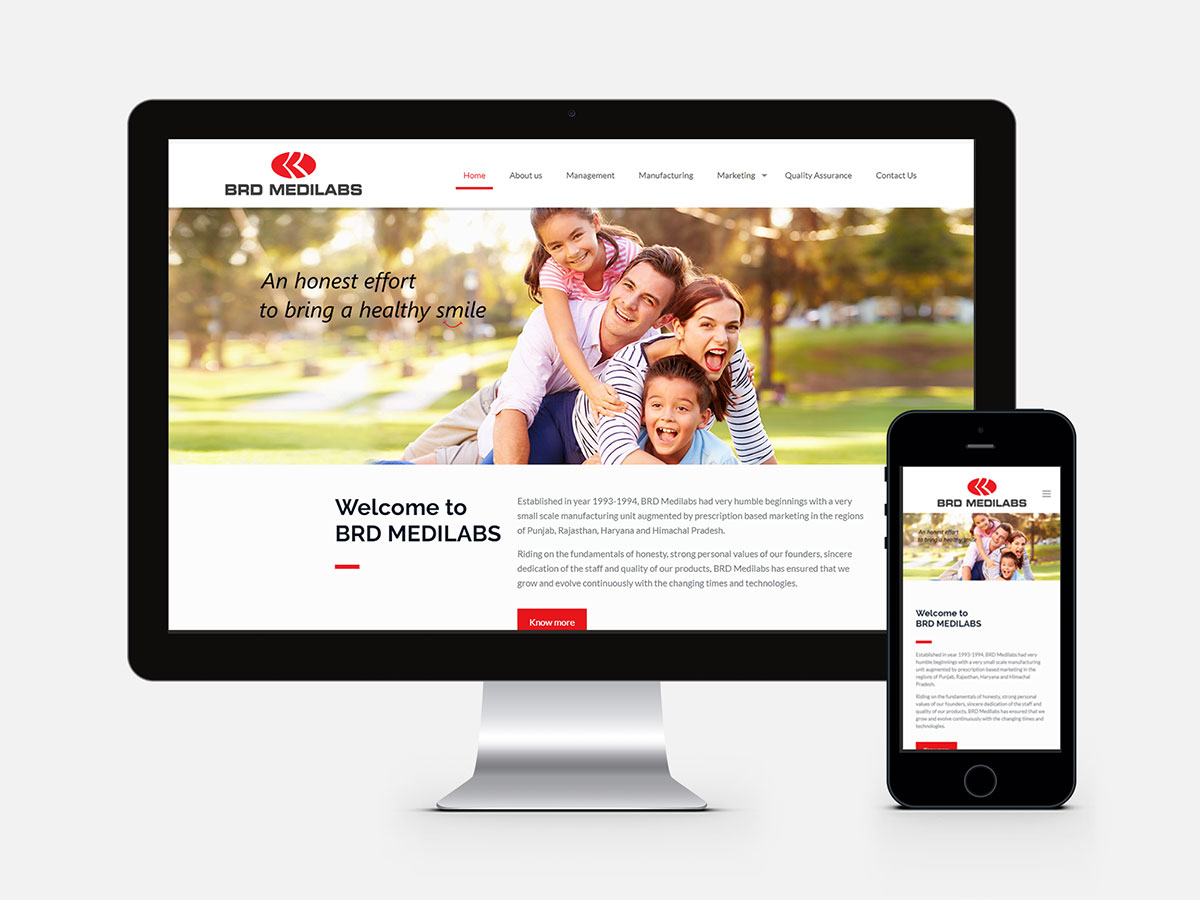Pharmaceutical_Company_Website